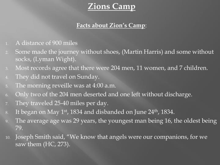 Zions Camp