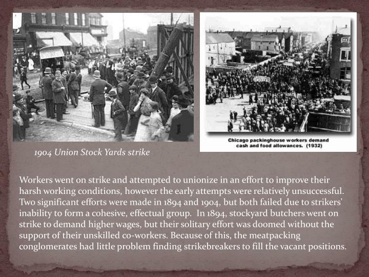 1904 Union Stock Yards strike