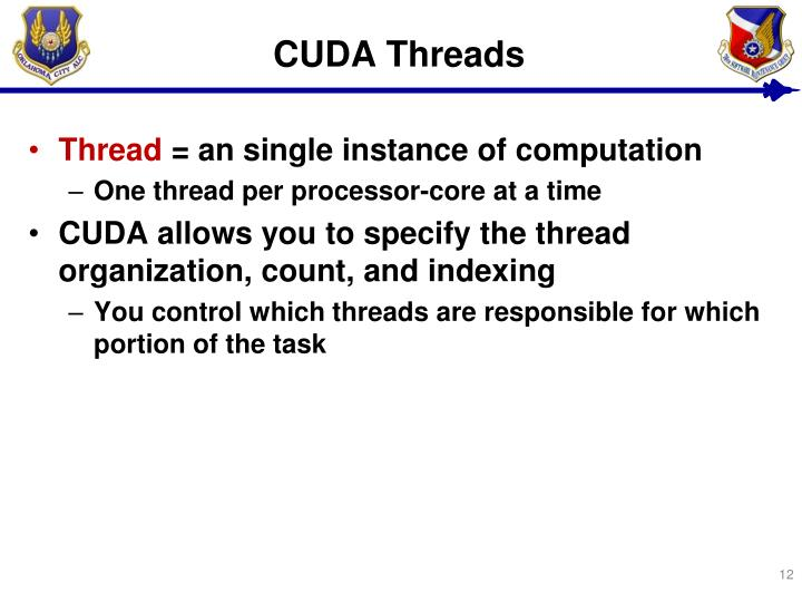 CUDA Threads