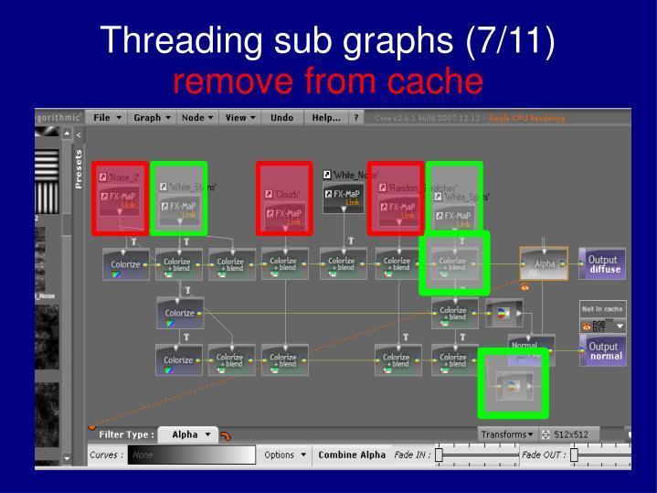 Threading sub graphs (7/11)