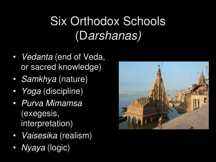 Six Orthodox Schools