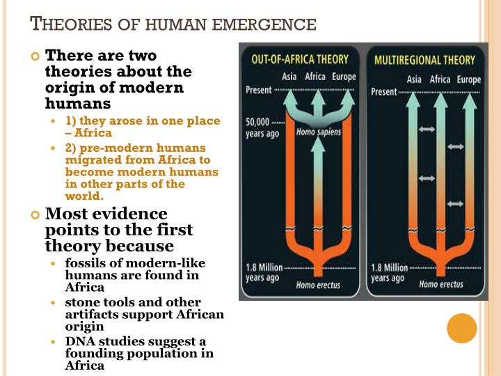 Theories of human emergence