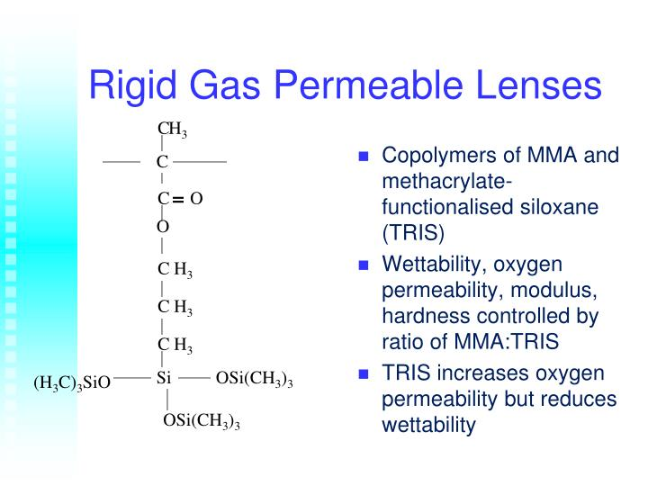 Rigid Gas Permeable Lenses