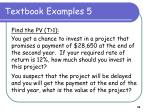 textbook examples 5