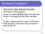 textbook examples 7
