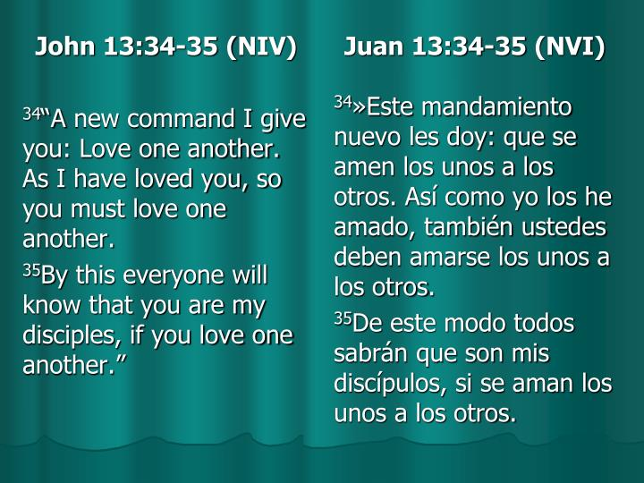 John 13:34-35(