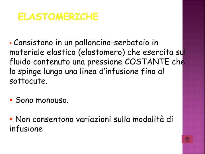 ELASTOMERICHE