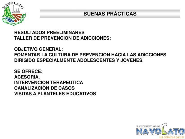 BUENAS PRÁCTICAS