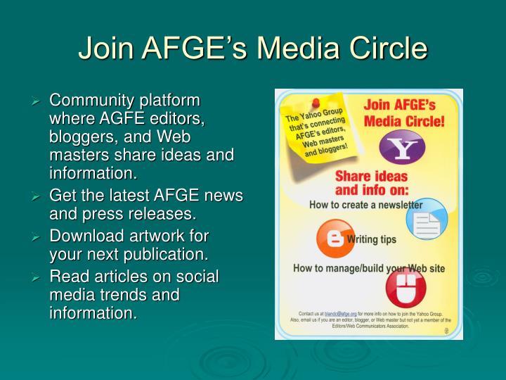Join AFGE's Media Circle
