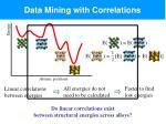 data mining with correlations