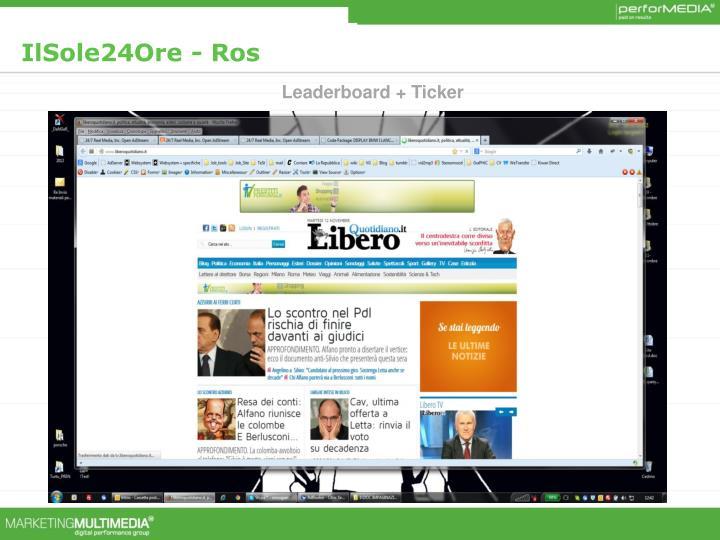 IlSole24Ore - Ros
