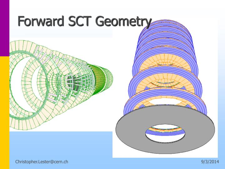 Forward SCT Geometry