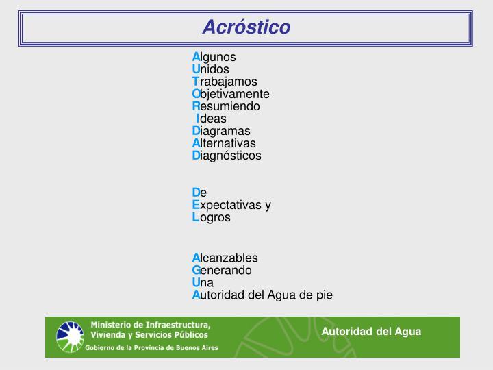 Acróstico