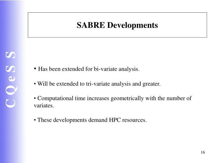SABRE Developments