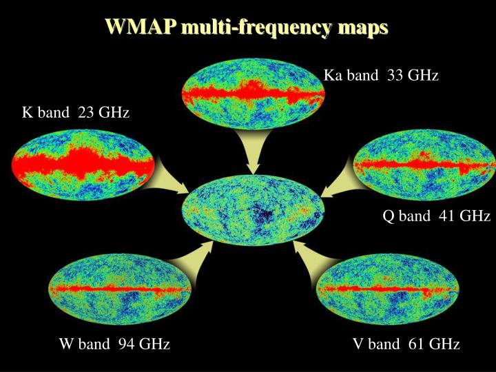 WMAP multi-frequency maps