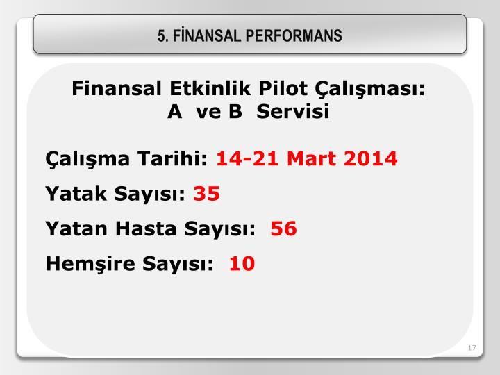 5. FİNANSAL PERFORMANS