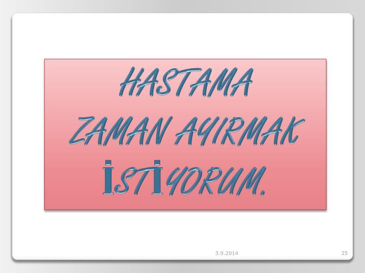 HASTAMA