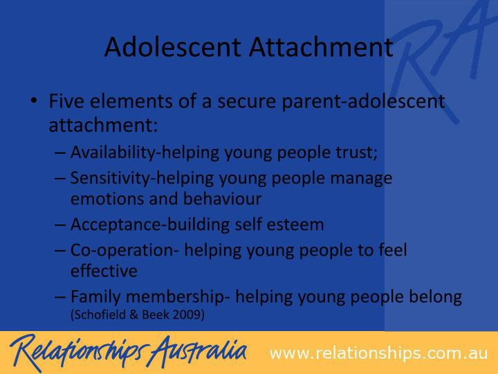 Adolescent Attachment