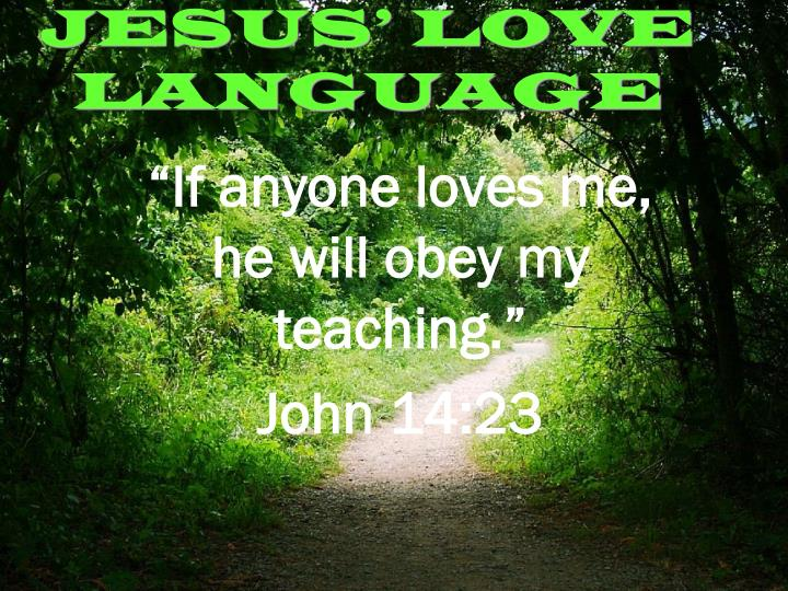Jesus love language2