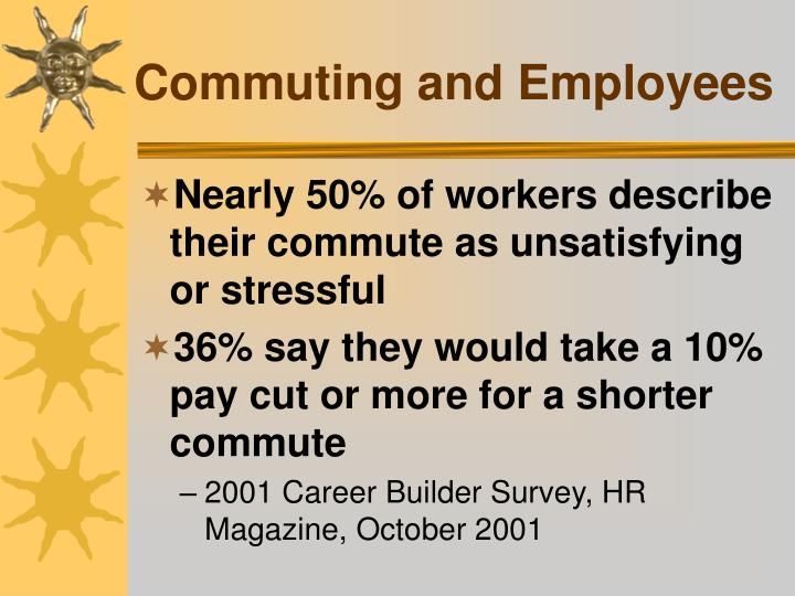 Commuting and Employees