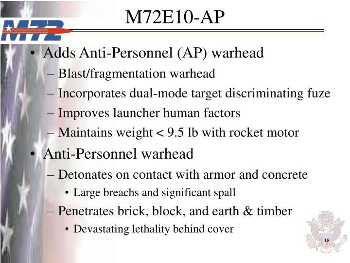 M72E10-AP