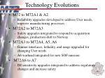 technology evolutions