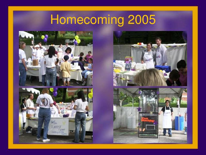 Homecoming 2005