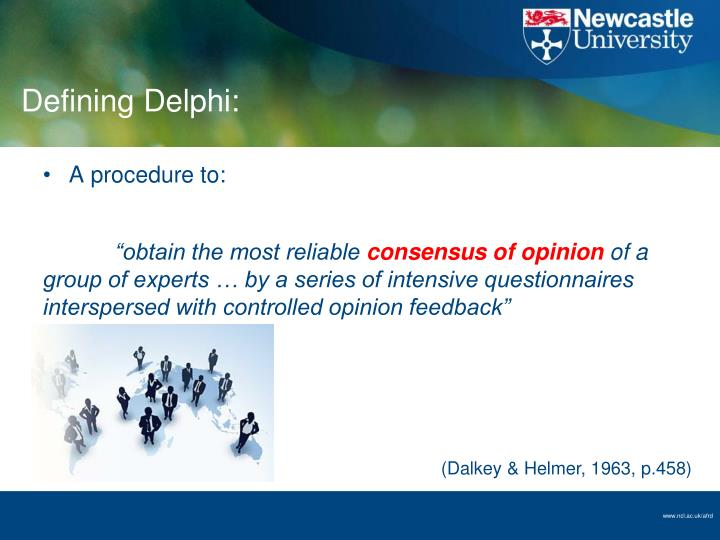 Defining Delphi: