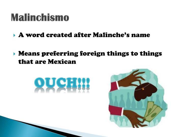 Malinchismo