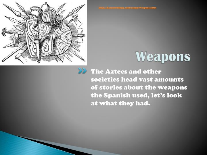 http://karenswhimsy.com/roman-weapons.shtm