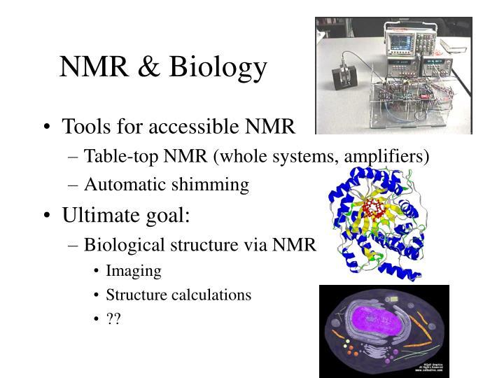 NMR & Biology