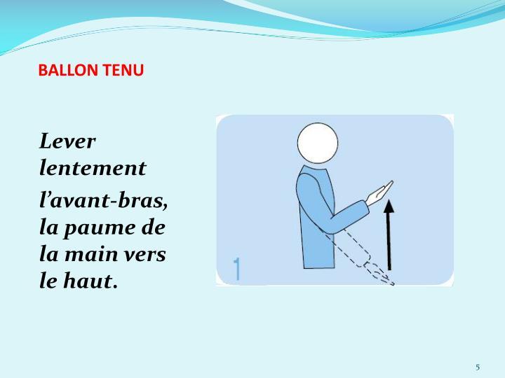 BALLON TENU