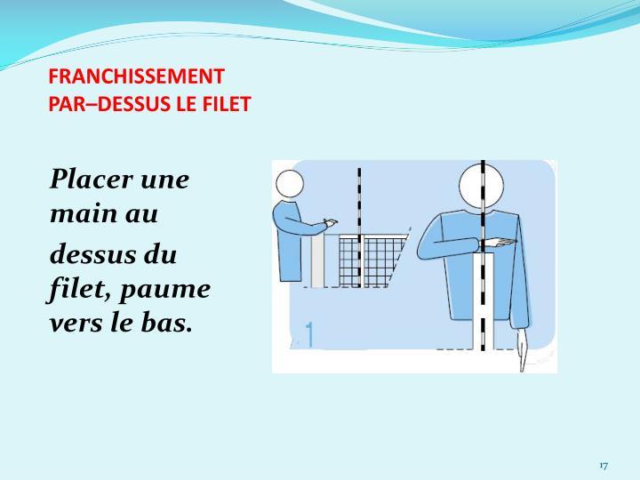 FRANCHISSEMENT
