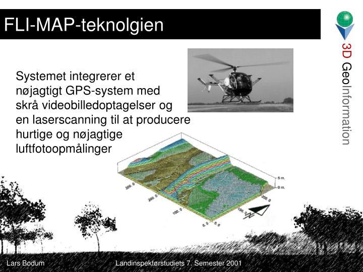 FLI-MAP-teknolgien