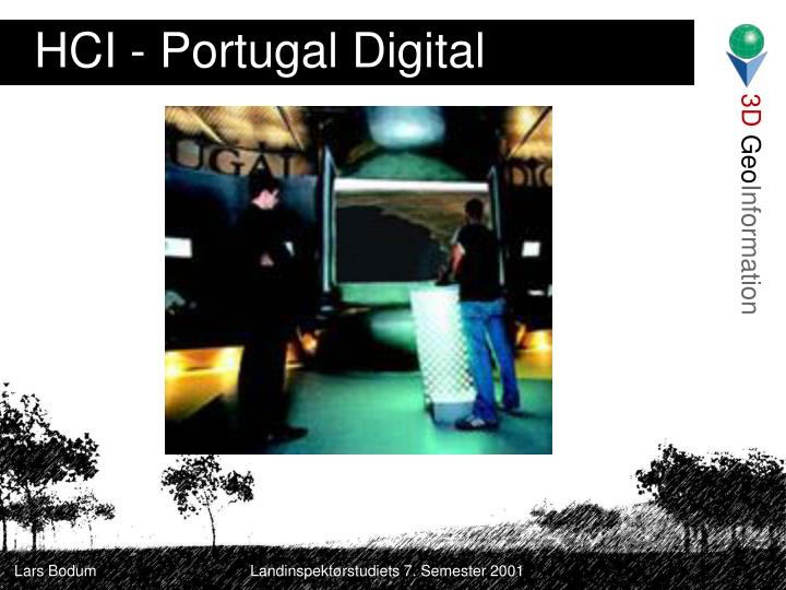 HCI - Portugal Digital