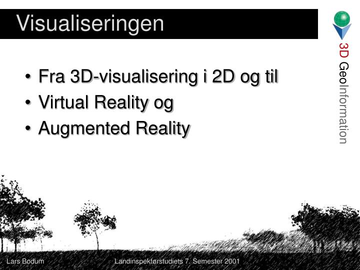 Visualiseringen