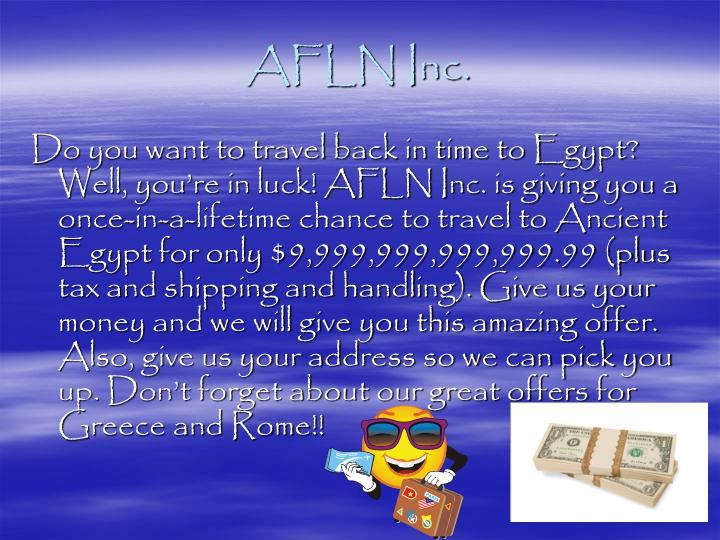 AFLN Inc.
