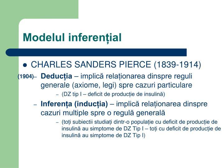 Modelul inferențial
