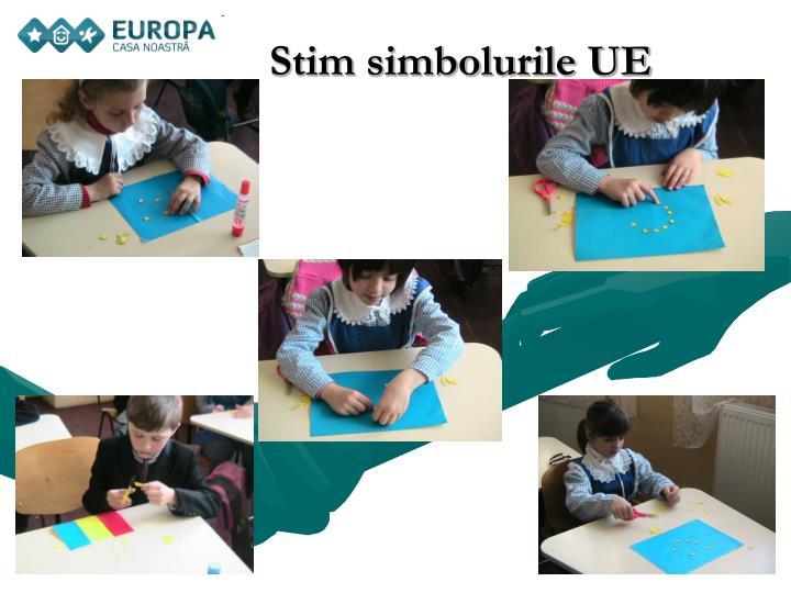 Stim simbolurile UE
