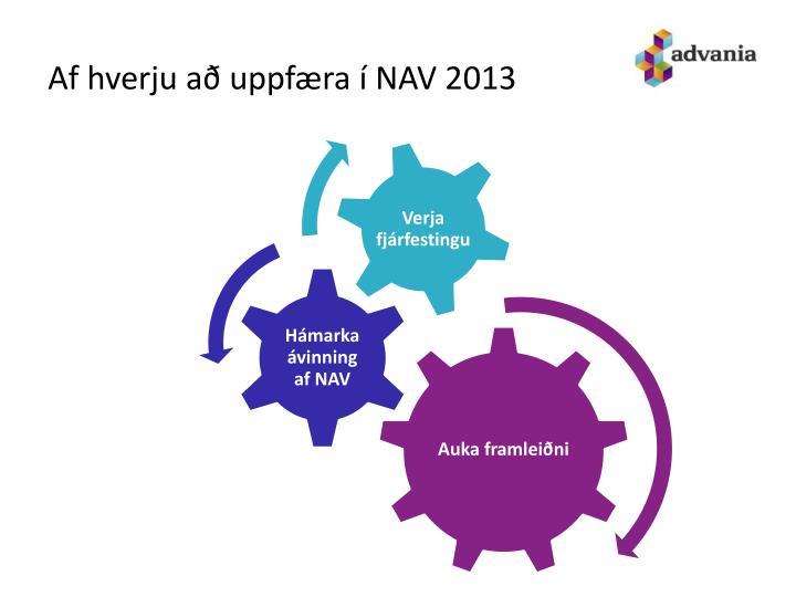Af hverju að uppfæra í NAV 2013