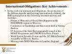international obligations key achievements1