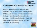 condition of america s schools