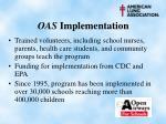 oas implementation