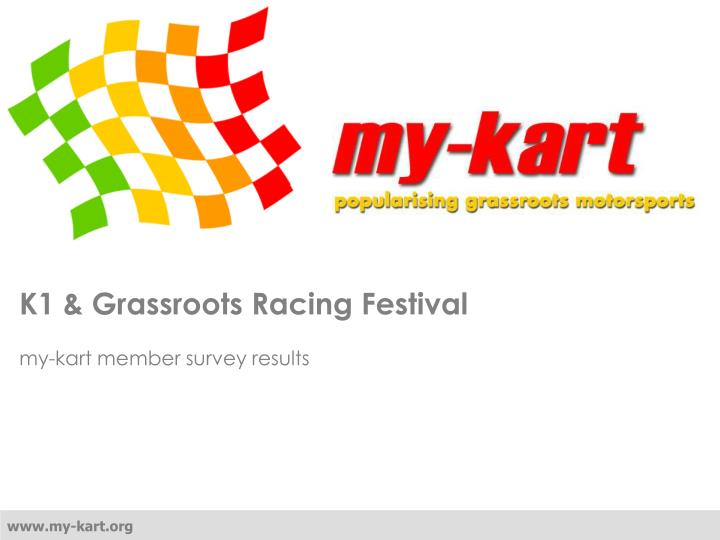 K1 grassroots racing festival
