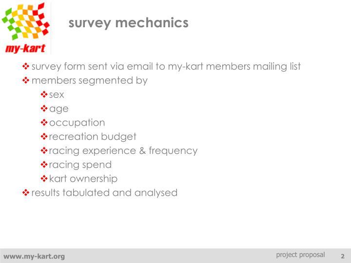 survey mechanics
