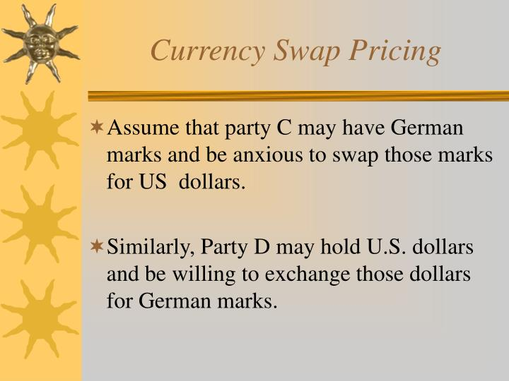 Currency Swap Pricing