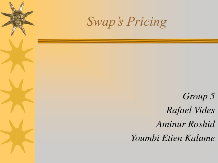 swap s pricing