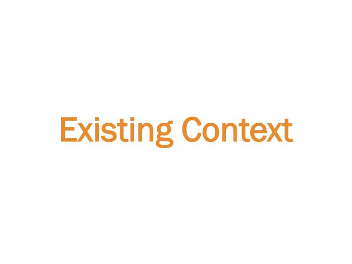 Existing Context