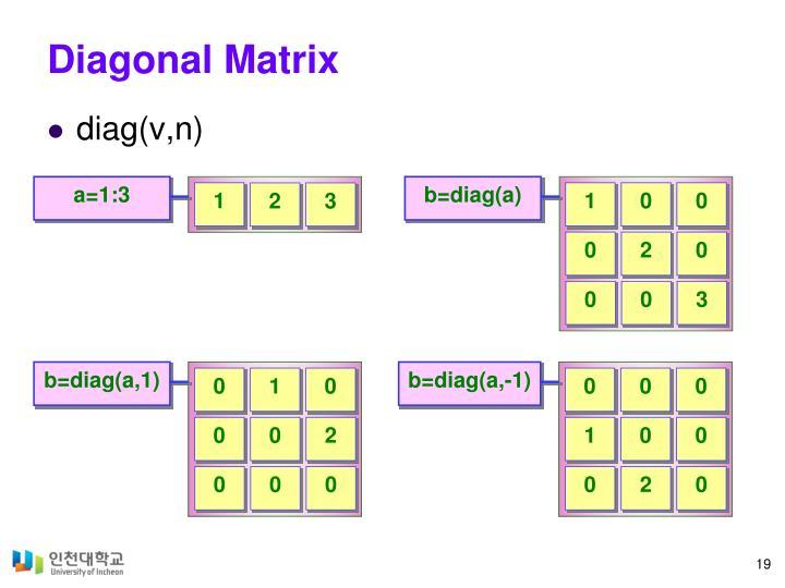 Diagonal Matrix