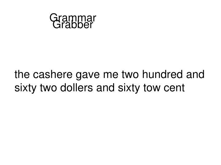 Grammar Grabber